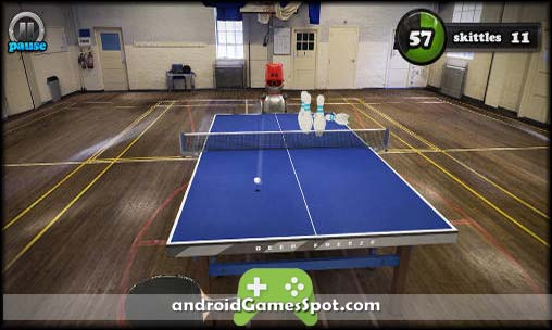 Table Tennis Touch free android games apk download