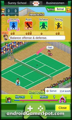 Tennis Club Story free android games apk download