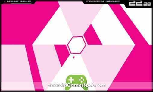 Super Hexagon free android games apk download