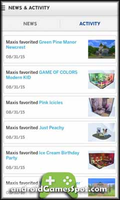 The Sims 4 Gallery free android games apk download