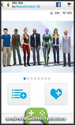 The Sims 4 Gallery game apk free download