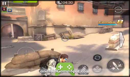 FRONTLINE COMMANDO RIVALS free games for android apk download
