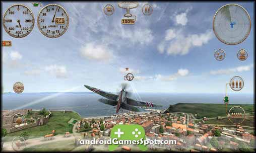 Sky Gamblers Storm Raiders free android games apk download