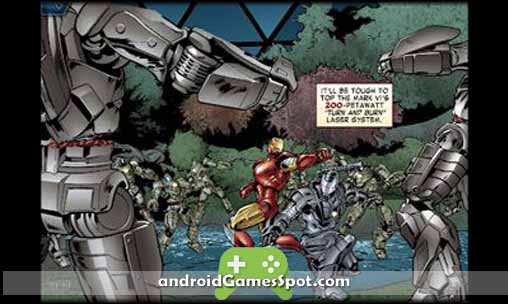 The Avengers-Iron Man Mark VII free android games apk download