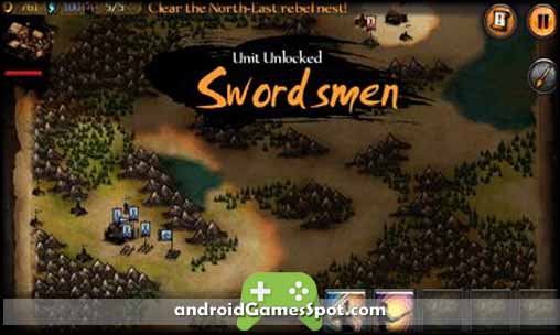 Autumn Dynasty RTS free android games apk download