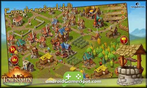 Townsmen Premium free android games apk download