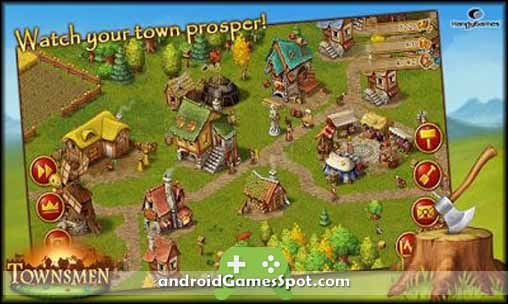 Townsmen Premium free games for android apk download