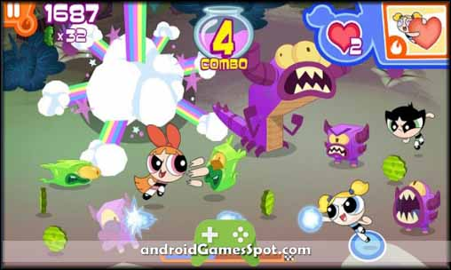 Flipped Out! Powerpuff Girls free apk download