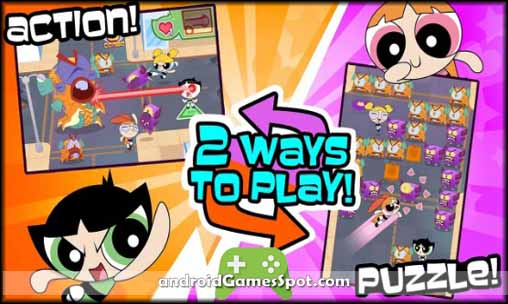 Flipped Out! Powerpuff Girls free download