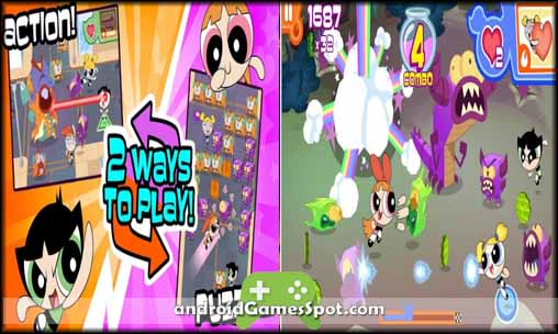 Flipped Out! Powerpuff Girls game apk free download