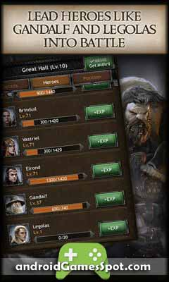 The Hobbit King Middle earth free apk download