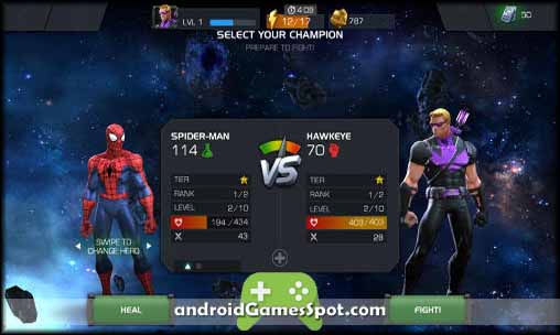 MARVEL Contest of Champions free apk download