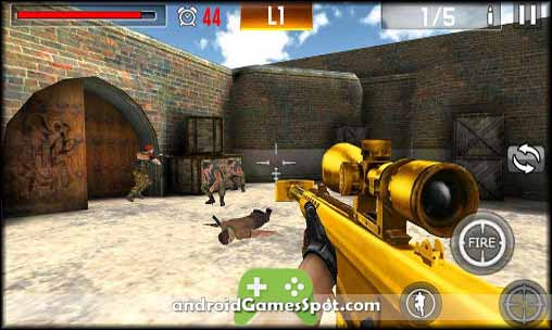 Shoot War Professional Striker free apk download