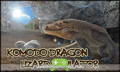 Komodo Dragon Lizard Simulator v1.0 APK Free Download